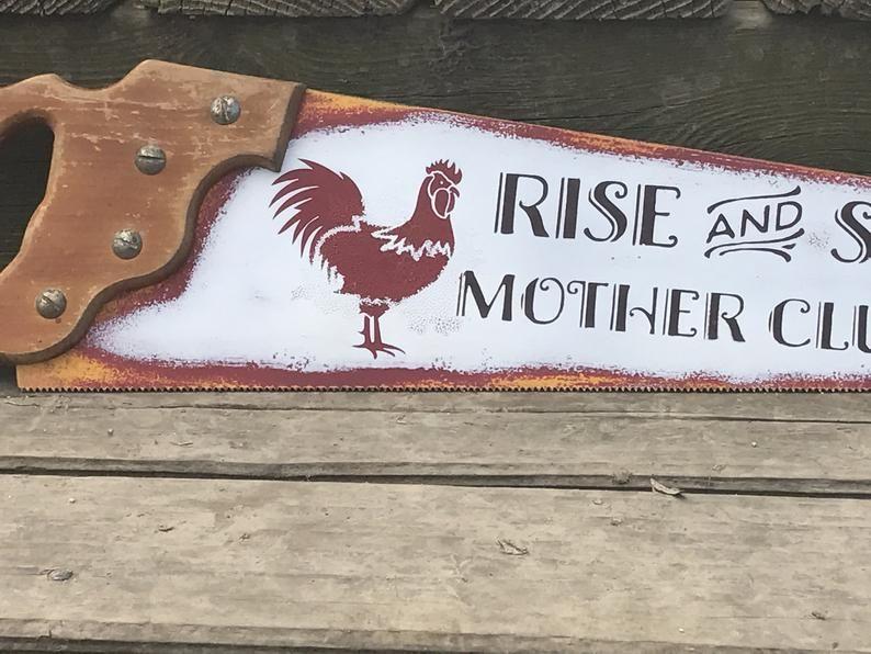 Chicken Wall Sign // Chicken Sign // Chicken Coop