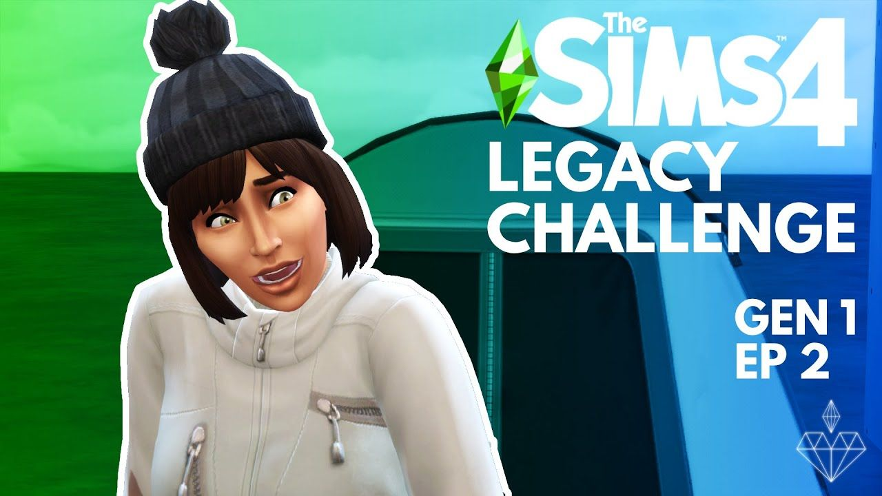 The Sims 4 Legacy Challenge GEN1 EP2 Being Shameless