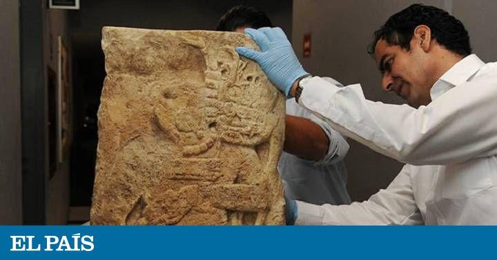 Chiapas – Yale – Ciudad de México: el viaje de una estela maya robada