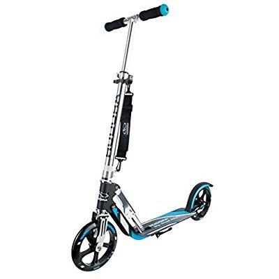 türkis Hudora City Scooter Hudora Big Wheel 205 RX Pro Das Original klappbar