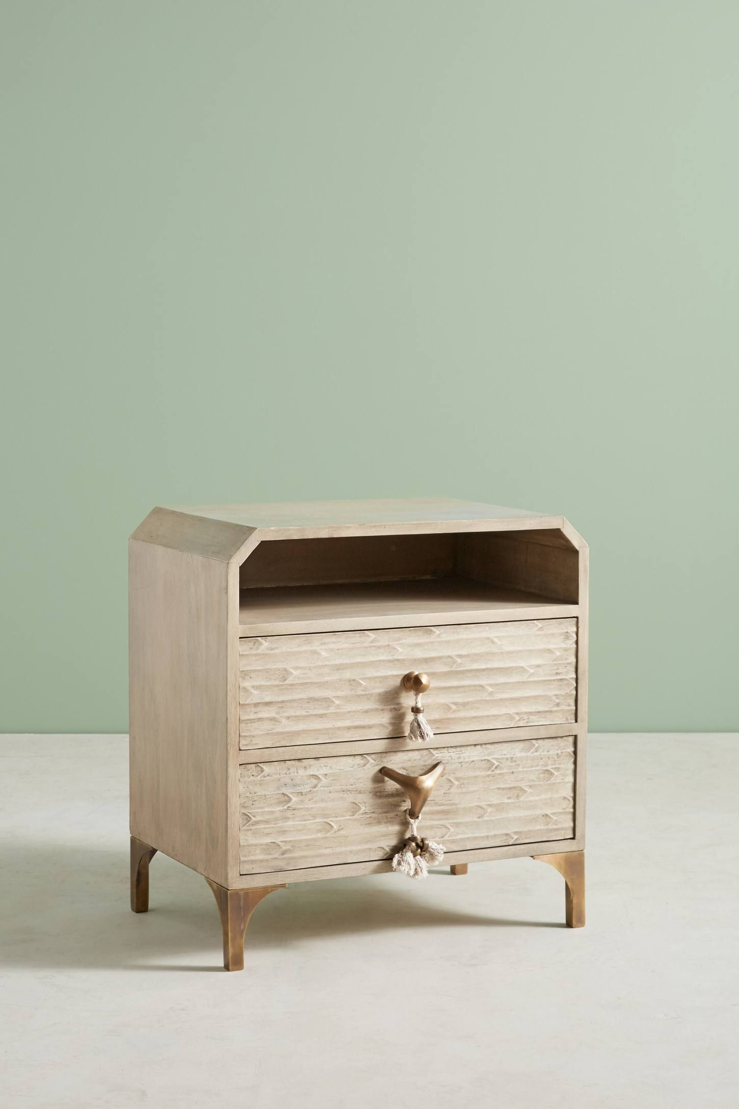 zagora tasseled nightstand 145 clyde unique bedroom furniture rh pinterest com