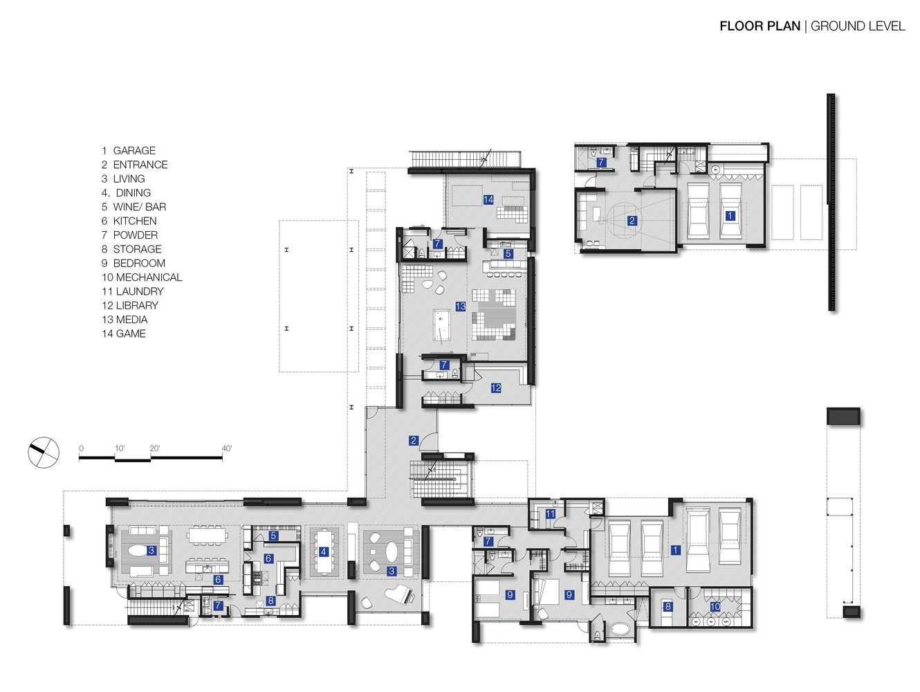Gallery Of Cayambe House Punch Architecture 29 Architecture Architecture Site Plan Architecture Elevation