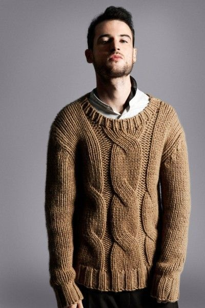 MADE TO ORDER crewneck wool Sweater turtleneck men hand knitted ...