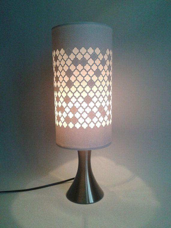 Simili Cuir Ajourés Oriental Blanc Motifs Modèle Jour Alhambra Abat 8nOkX0wP