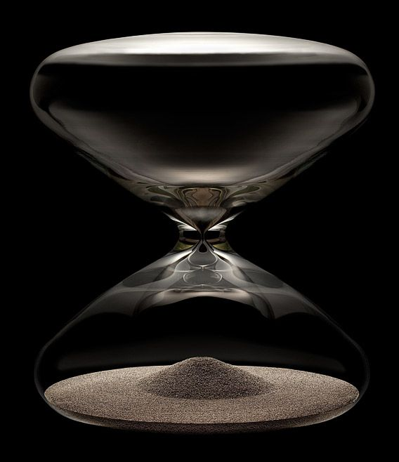 Le Sablier Ikepod Hourglass By Marc Newson Hgs20 Sablier Sabliers Noir Et Blanc