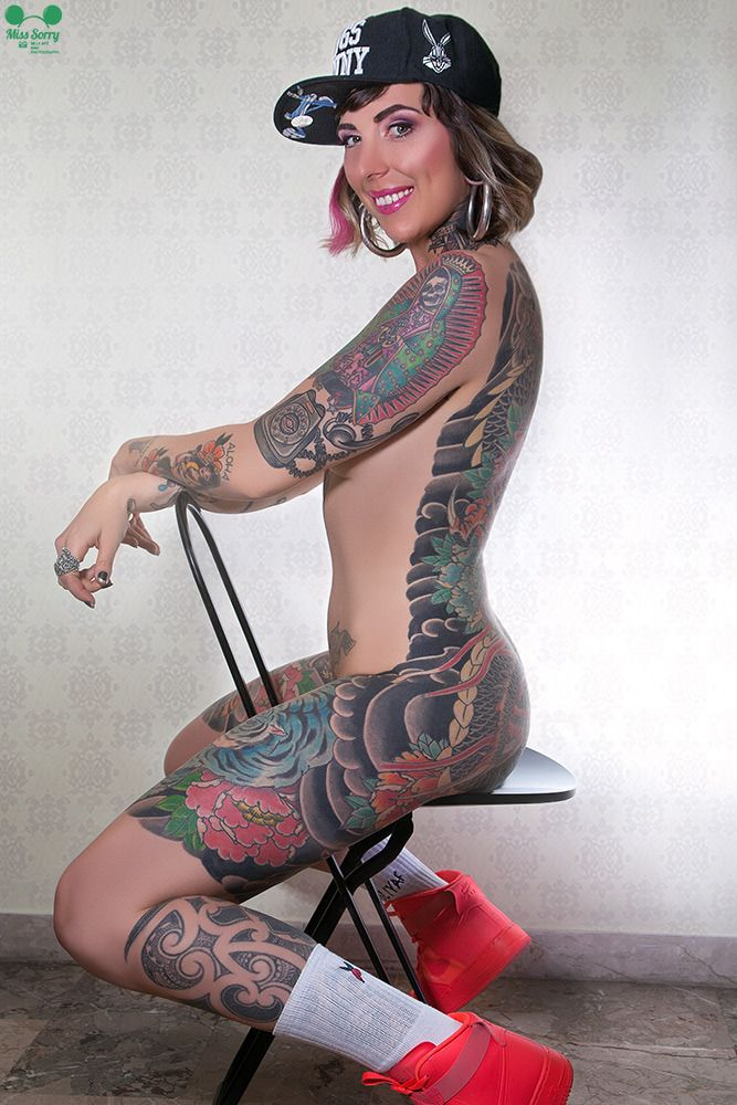 Heavily Tattooed Women Other Tatted Women 5 Tattoos For