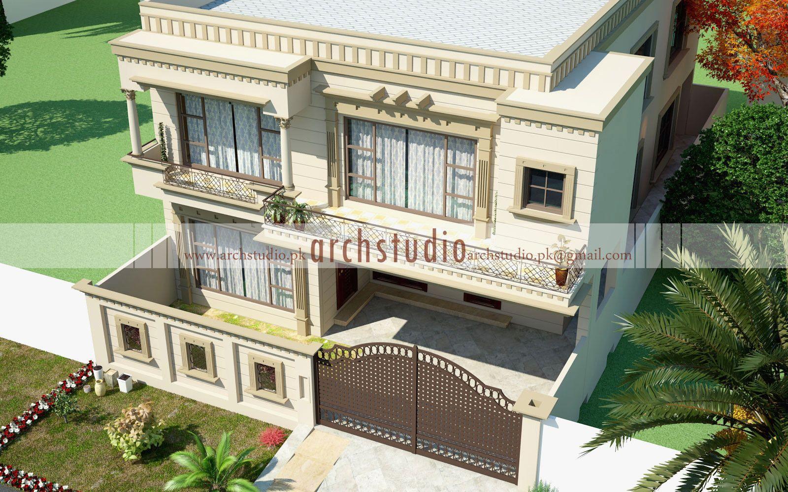 10 Marla House Architecture Design House Architecture Design House Front Design House Design