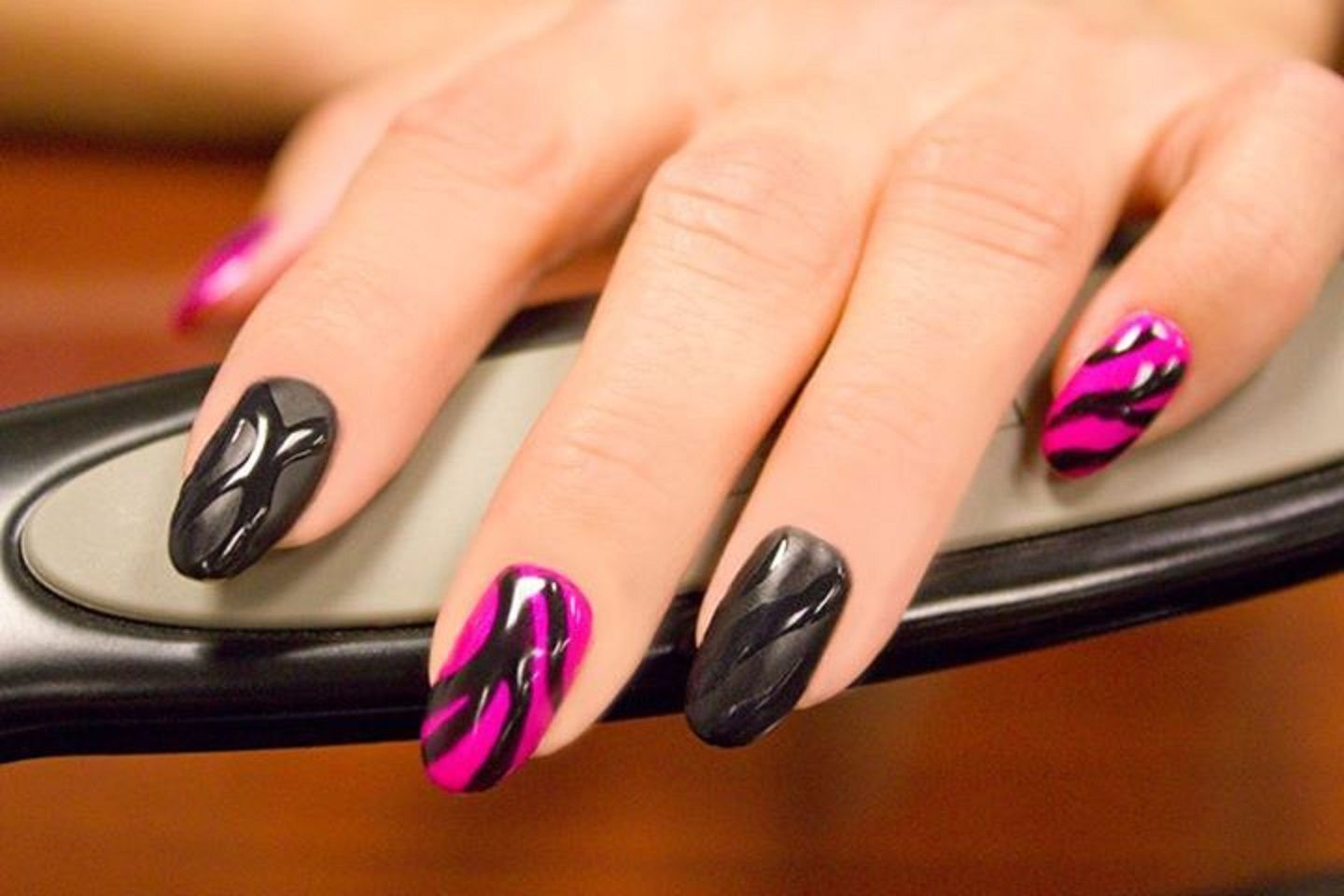 17Crazy Matte Nail Art Designs For Trendy Girls Hands are visible ...