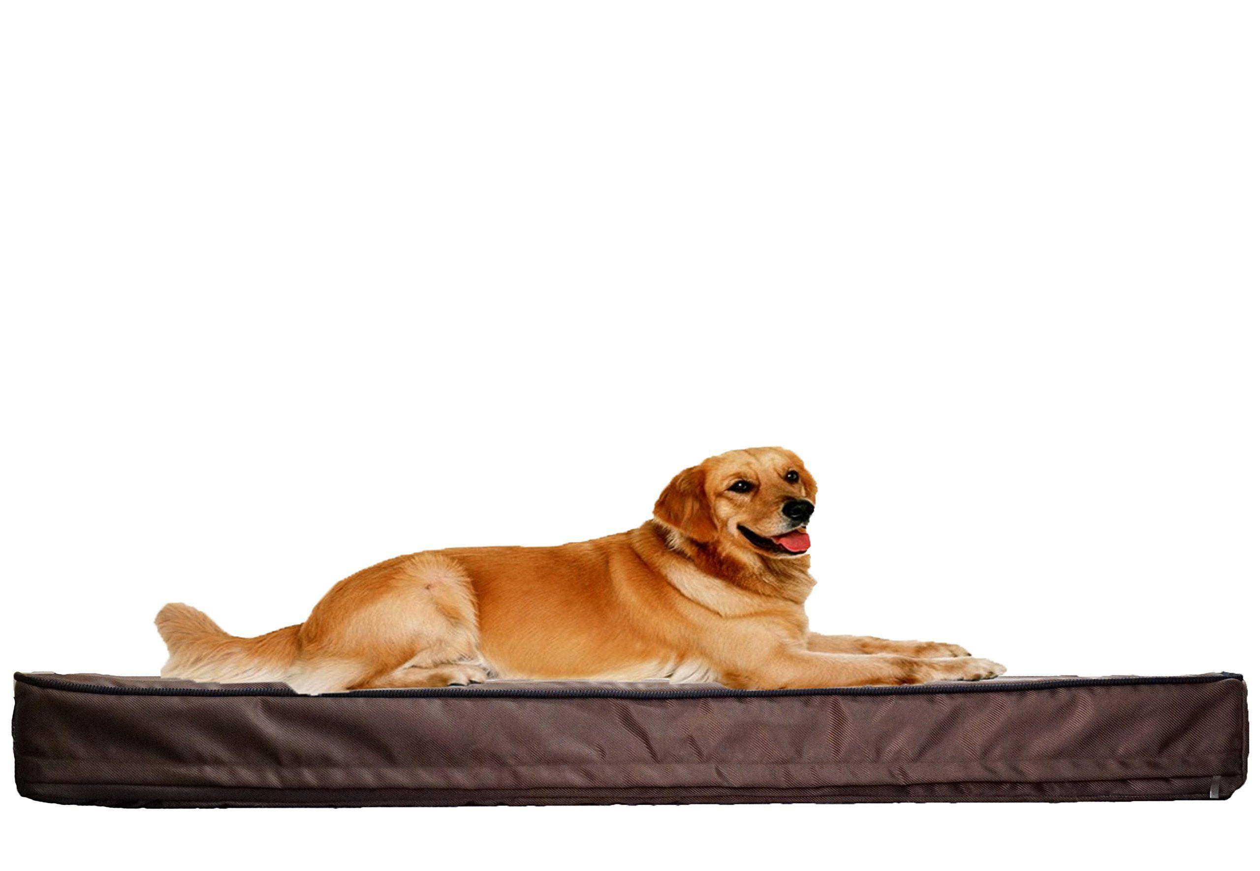 PetBed4Less Deluxe Orthopedic Memory Foam Dog Bed Pet Pad