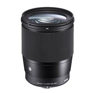 The New Sigma 16mm F1 4 Dc Dn Contemporary Is The World S First Interchangeable Lens For Mirrorless Sony E Mount Cameras In The Aps C Fo Objektiv Sony Filter