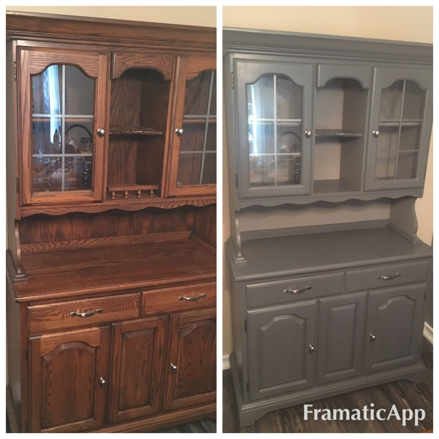 this is castle glazed rustoleum cabinet transformations. is this