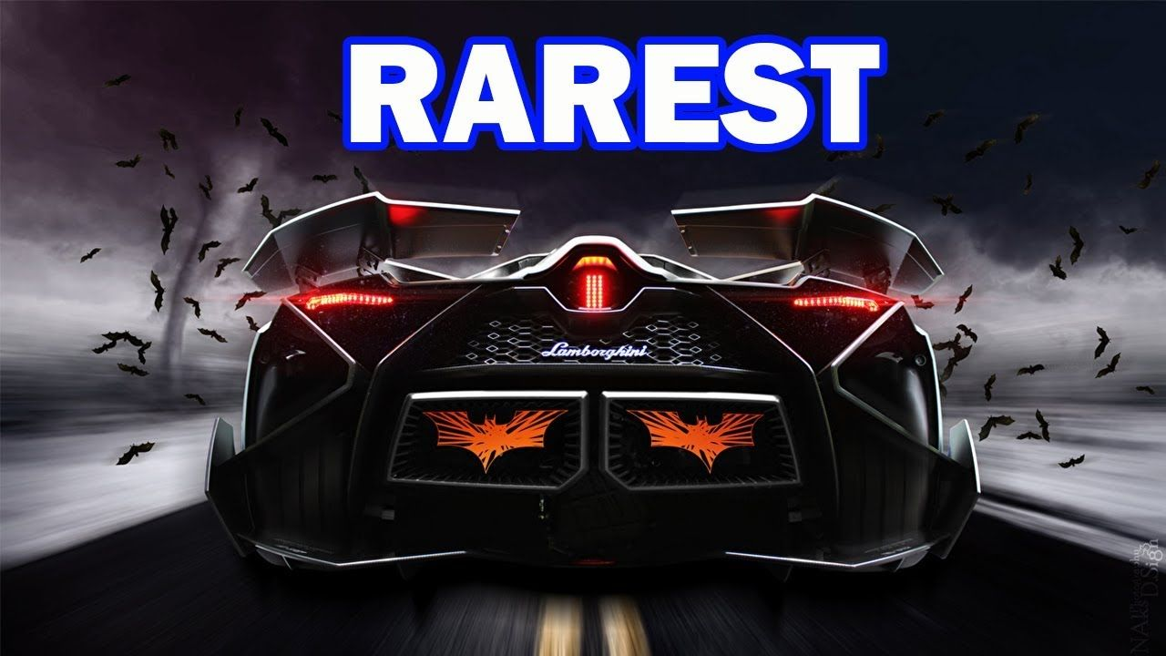 Top 10 Rarest Lamborghini Supercars Ever Million Dollar Cars