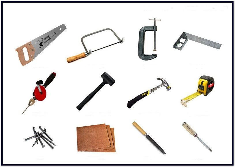 Woodworking Hand Tools List Woodworking hand tools, Easy woodworking projects, Woodworking
