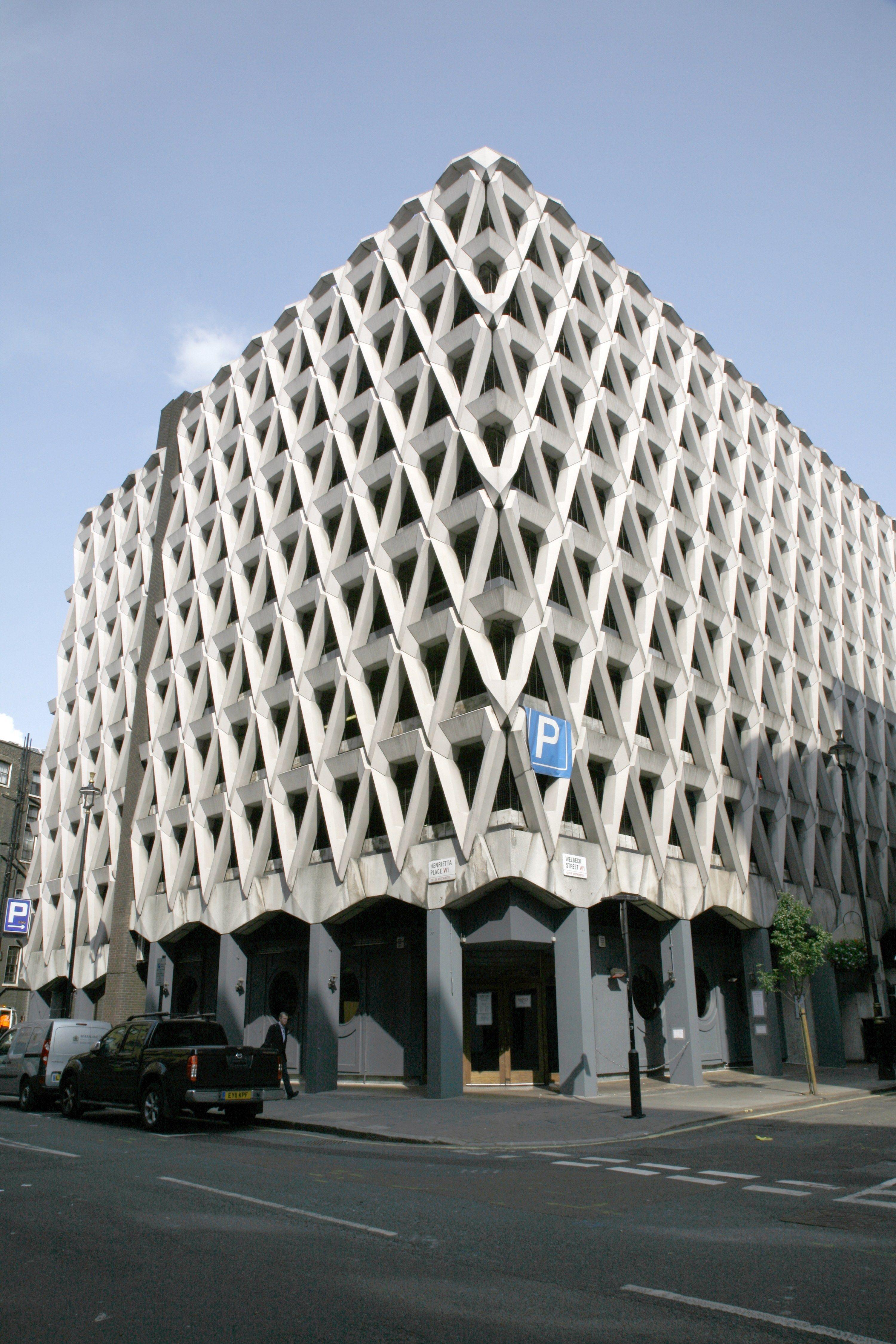 Iconic 20th Century Buildings That Have Been Demolished Parking Garage Design Garage Design Parking Garage Architecture