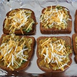 Corn Cheese Toasts ~Open-Faced Sandwich with sweet corn and cheese ~ With Stepwise pictures | Veg Inspirations