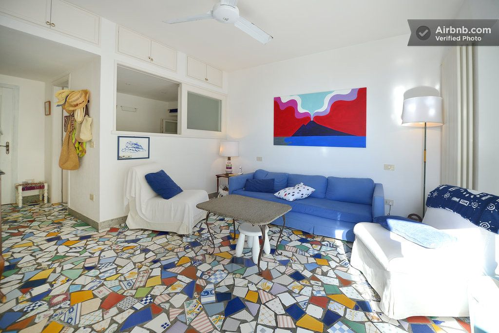 Cottage with private acces to sea in Ischia