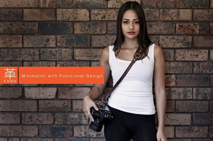 A Genuine Leather Camera Strap with Minimalist yet Functional Design :) must have a KAWA PRO STRAP !