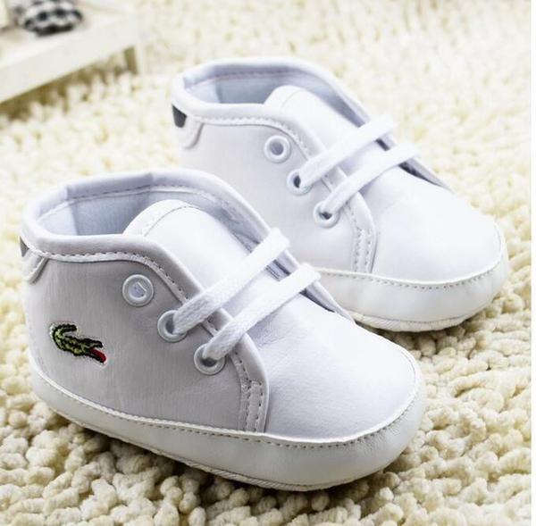 Lacoste Riberac 117 Infants Toddlers Babies Boys Casual Designer Trainers White