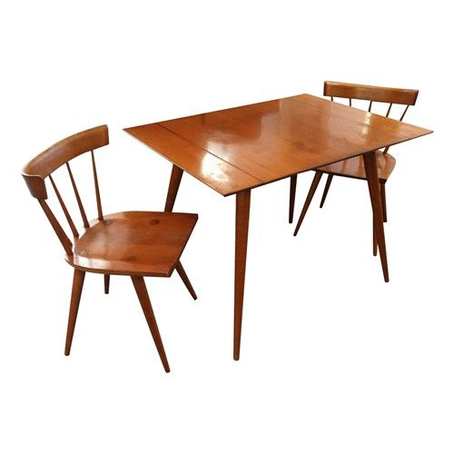 Paul McCobb, Planner Group Table with 2 Side Chairs - $1500.