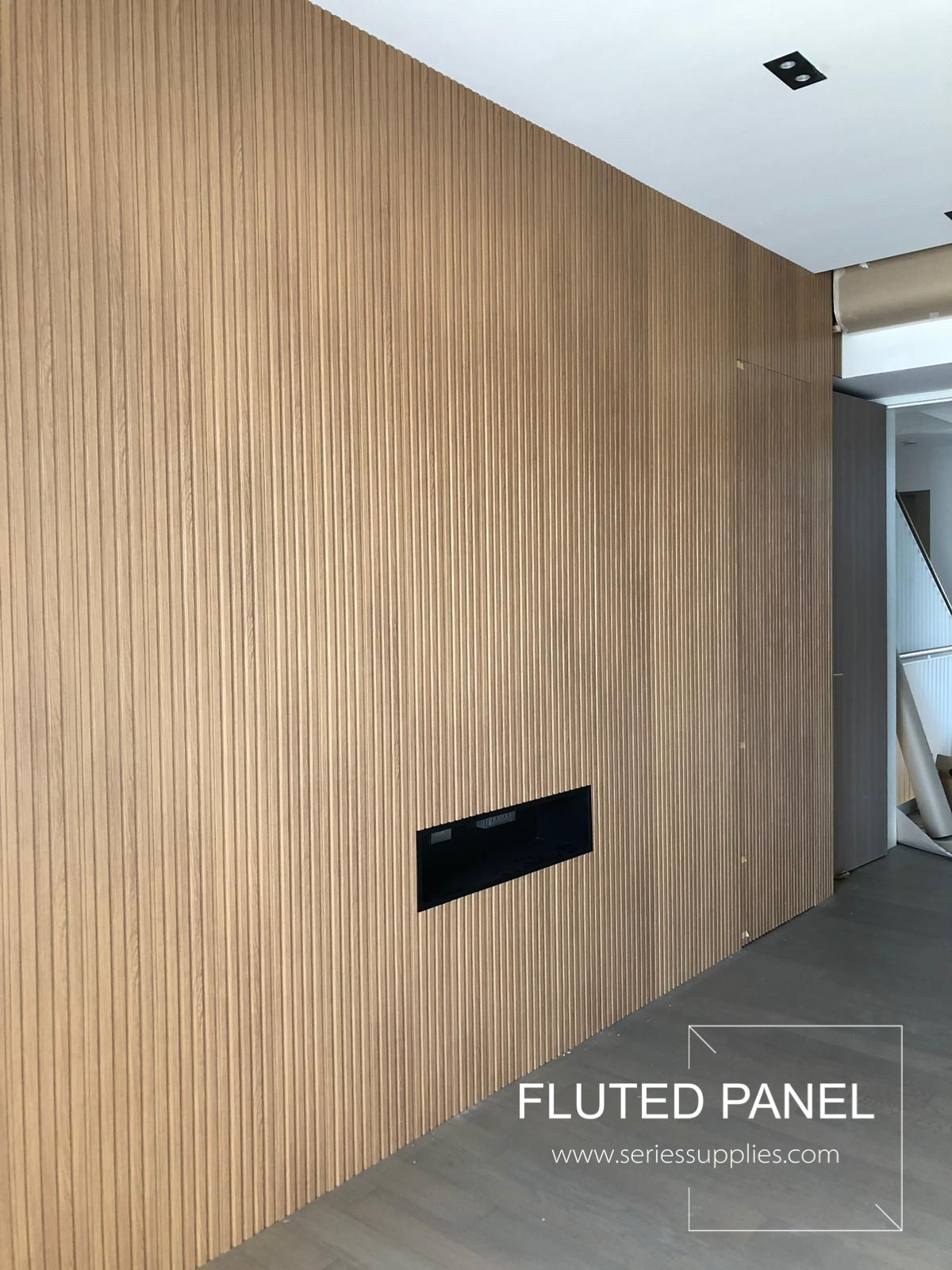 Wood Strip Wall Panel Wall Paneling Feature Wall Design Stripped Wall