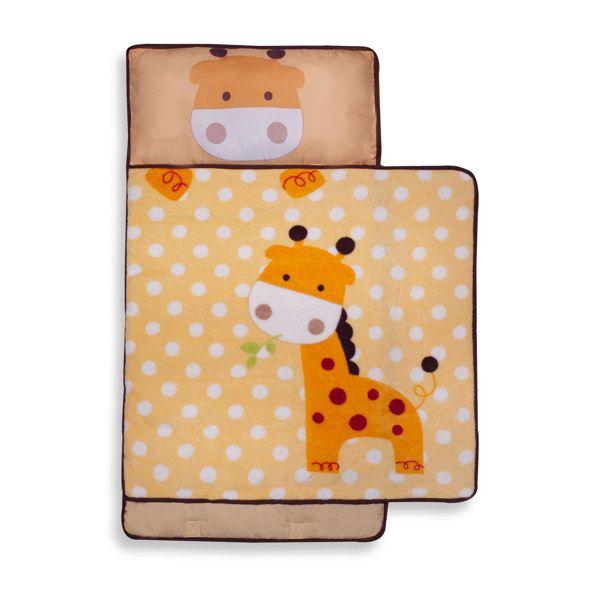 Kids Line Nap Mat Yellow Giraffe Bed Bath Beyond Toddler