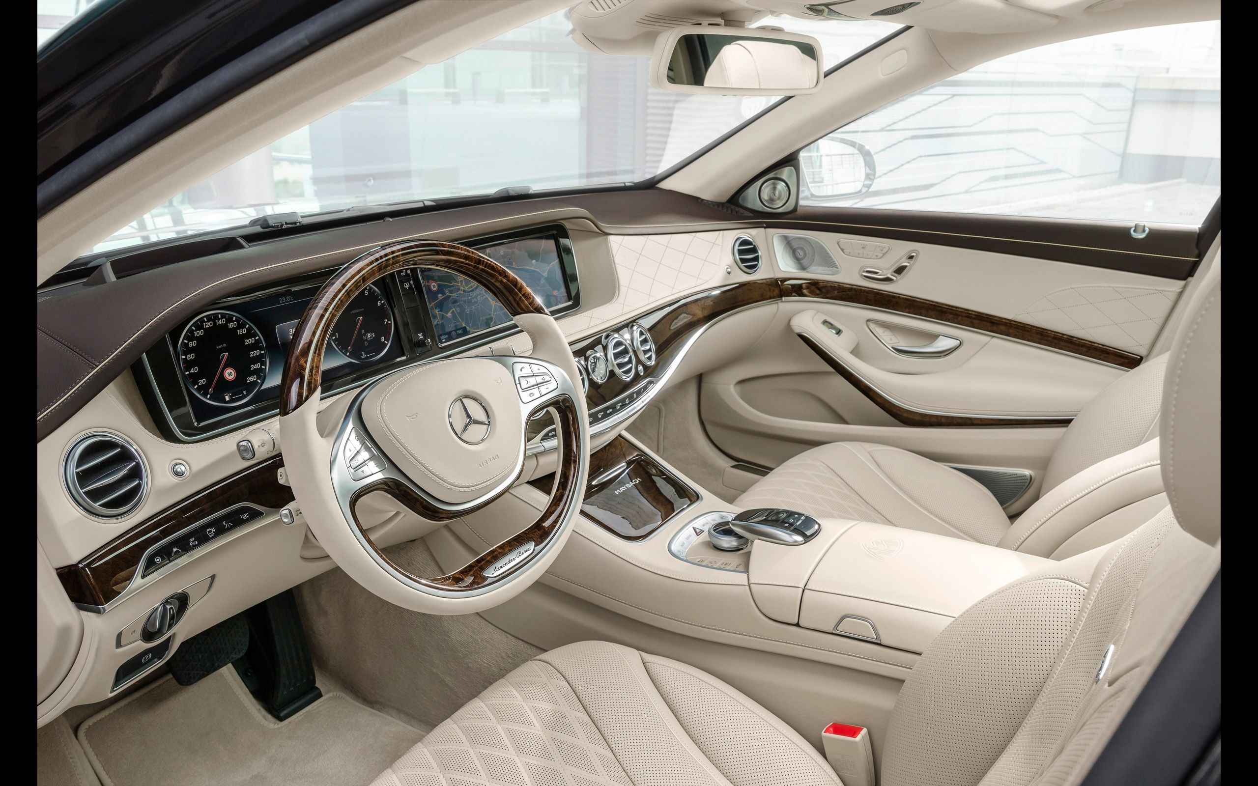 2015 Mercedes Maybach S Class Interior 13 2560x1600 Wallpaper Mercedes Maybach S600 Mercedes Maybach Maybach