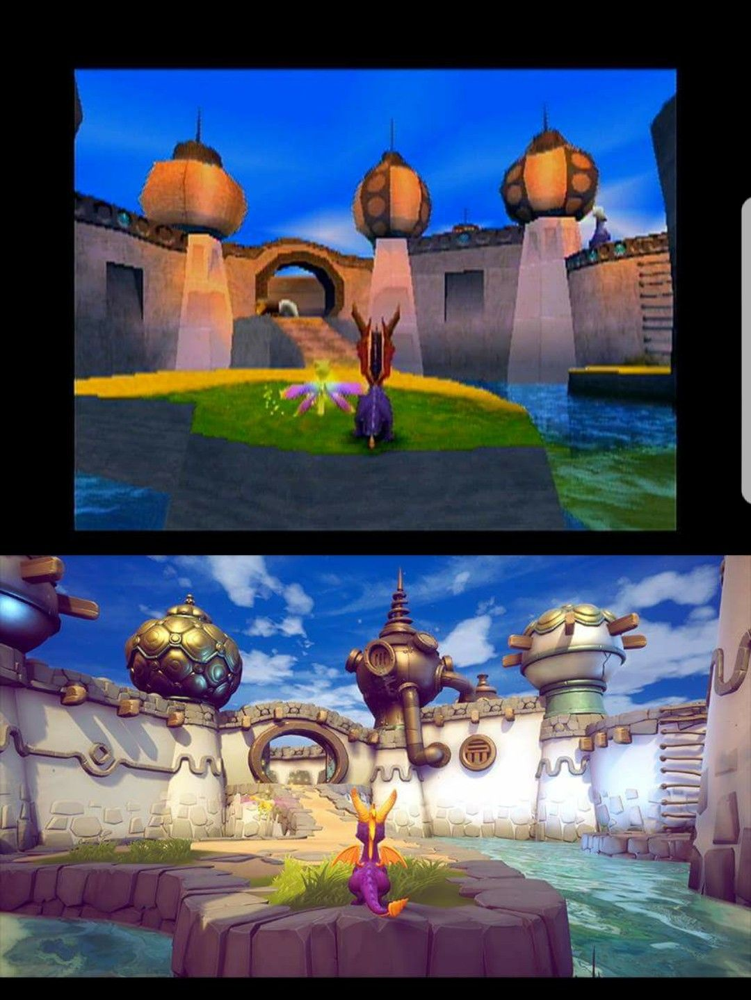 New Spyro Reignited Trilogy Screenshots and drawings