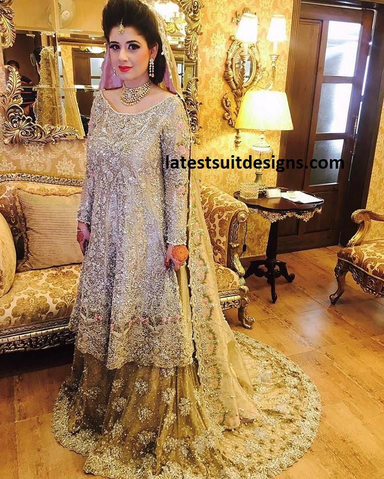 Download Latest Bridal Dress Designs Ideas Images 2018 2019 Latest Bridal Dresses Pakistani Bridal Dresses Pakistani Wedding Dresses