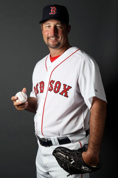 Tim Wakefield In Boston Red Sox Photo Day Red Sox Boston