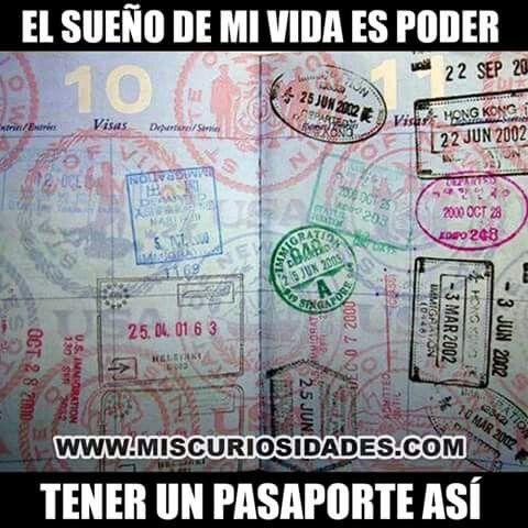 Vida, sueño, pasaporte