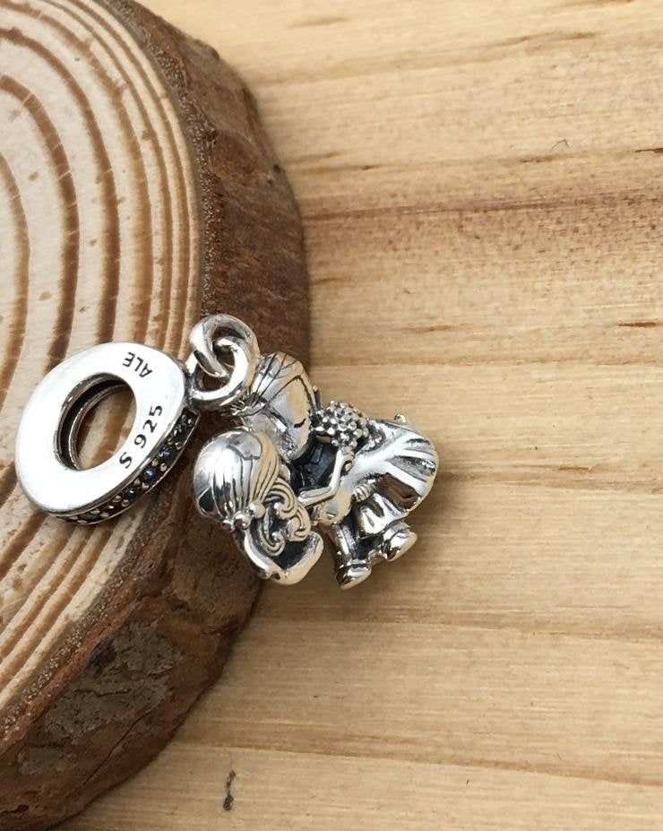 Excited To Share This Item From My Etsy Shop Married Couple Dangle Charm 100 925 Sterling Silver Cz In 2020 Pandora Bracelet Charms Dangle Charms Pandora Charms