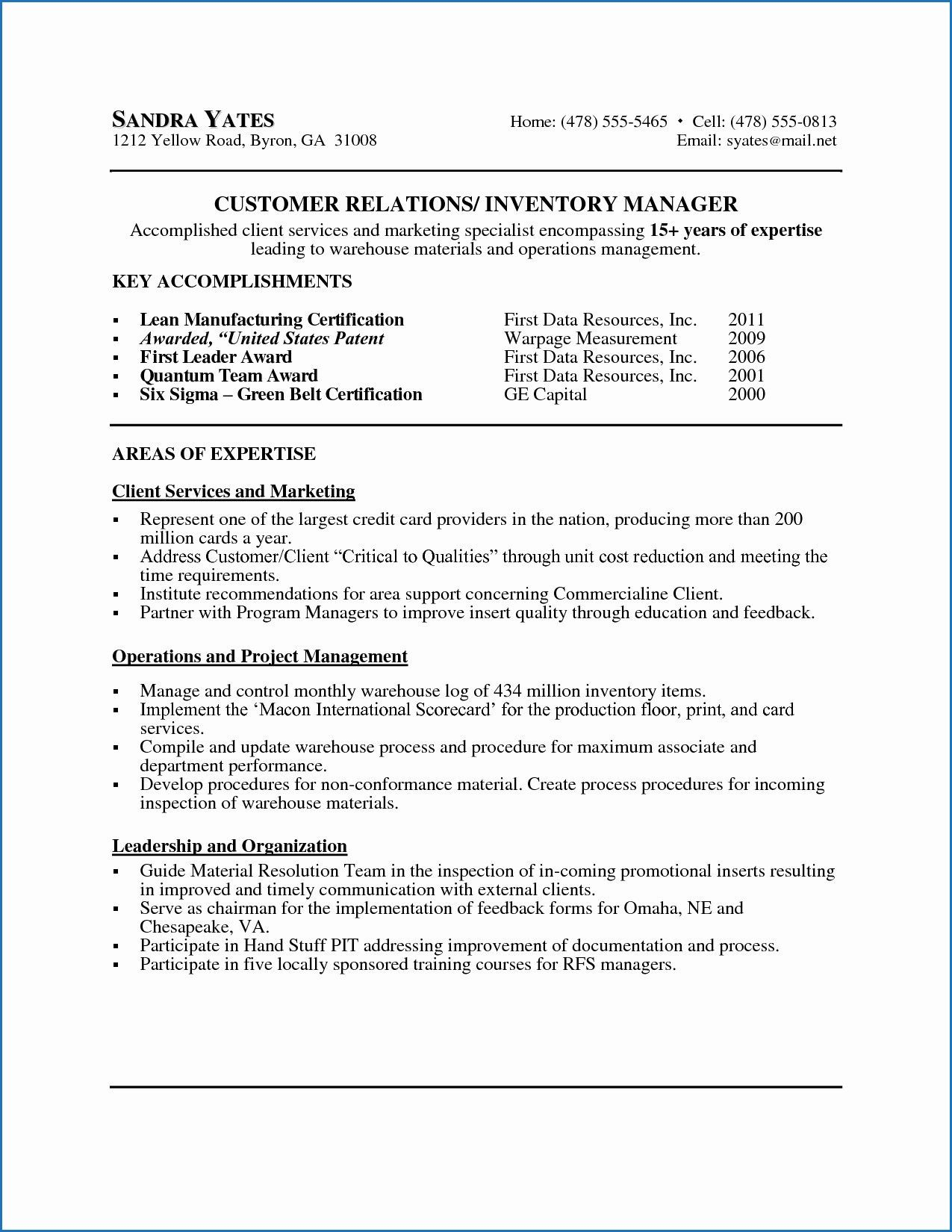 9 Example Of Resume Declaration