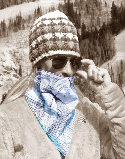 Ski Mask Face neck warmer gaiter for skiing bandanna by Facwarmer www.facwarmer.com