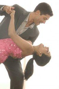The woman's role in ballroom and social dancing is to follow ...