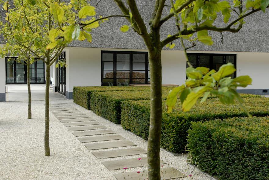 Villatuin noord holland door andrew van egmond ontwerp van tuin en