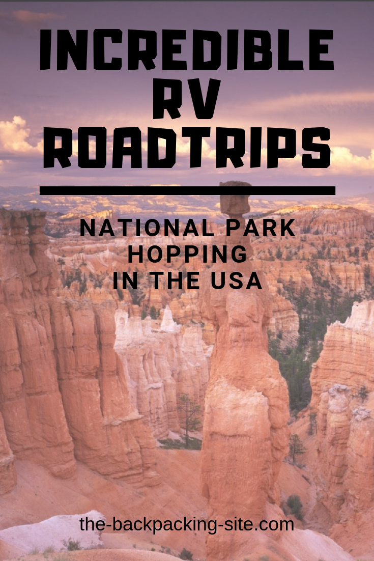 Travel the USA with an RV