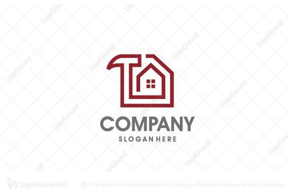 Exclusive Logo 25097 House Repair Logo Construction Logo Home
