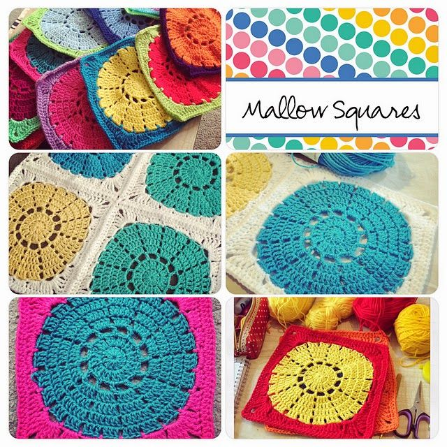 Mallow Square - free crochet pattern by Twilight Taggers. | crochet ...