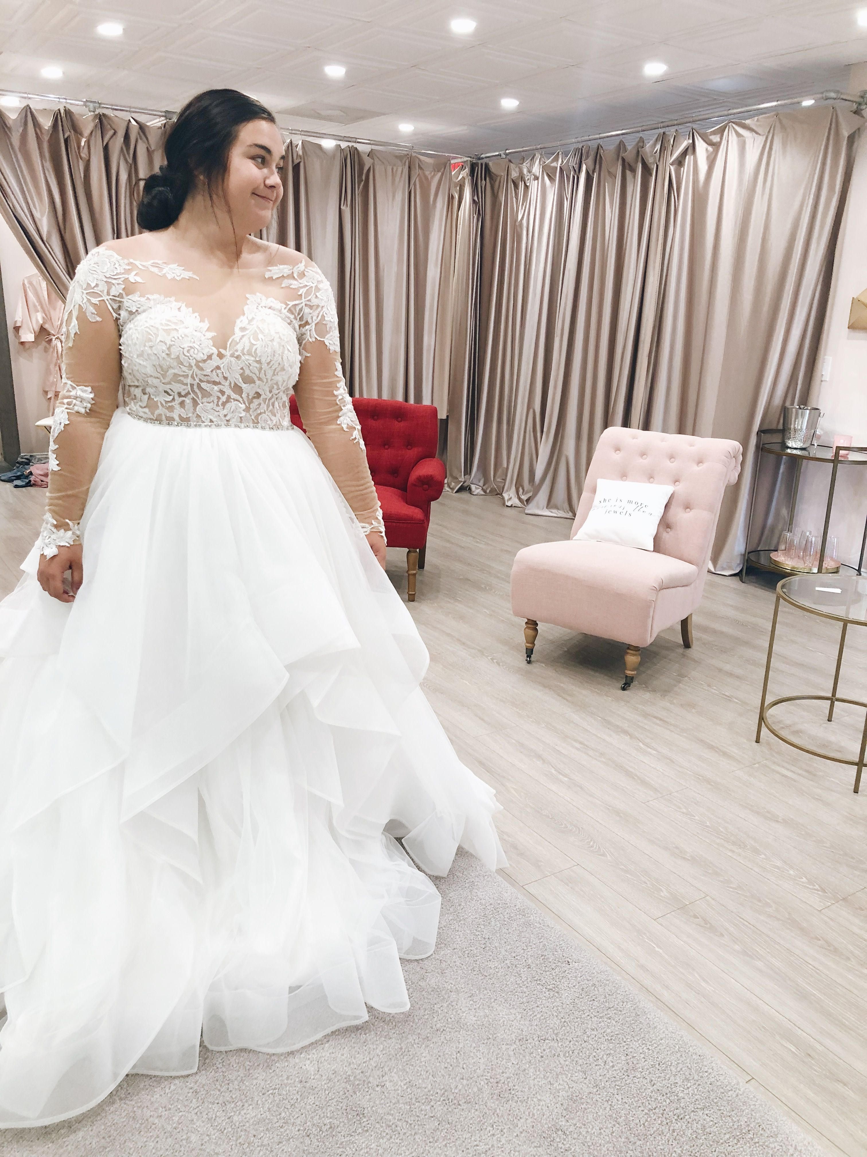 Long Sleeve Ball Gown Style Wedding Dress On The Luxurious Back Stage Of Beauty Within Bridal In Fer Dream Wedding Dresses Wedding Dress Styles Wedding Dresses [ 4032 x 3024 Pixel ]
