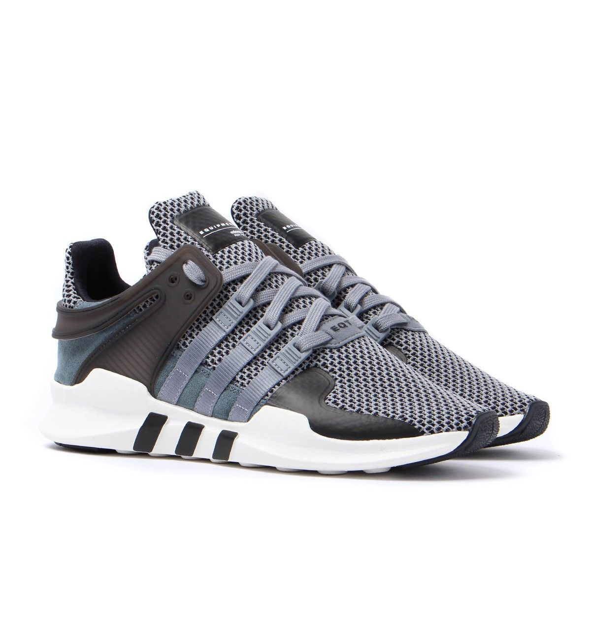 Adidas Orignals Equipment Support ADV Grey Mesh Trainers