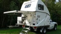 Ingenious 4WD campervan