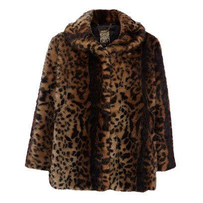Fabulous faux fur coats for party