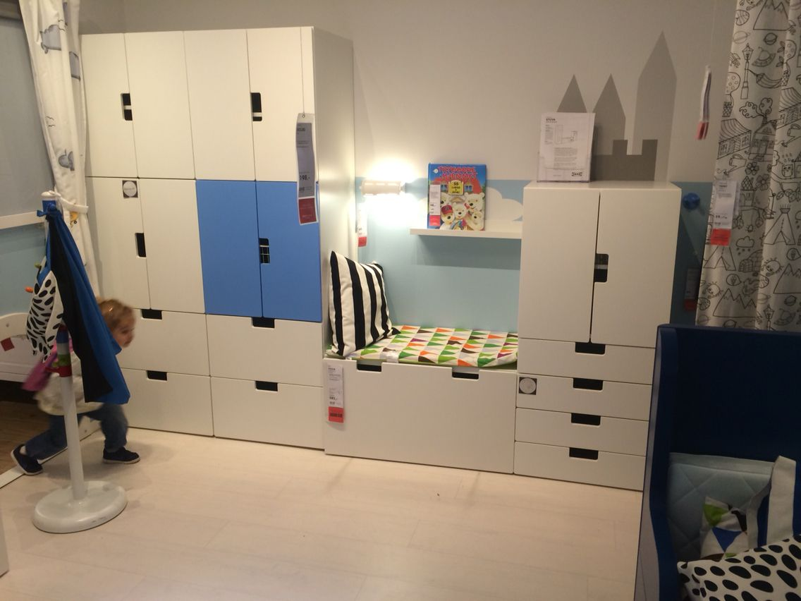 stuva ikea asker norway kind pinterest kinderzimmer m dchenzimmer und zwillinge. Black Bedroom Furniture Sets. Home Design Ideas