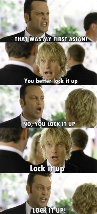 Best Wedding Crashers Quotes wedding crashers  Definitely one of my favorite scenes | funny  Best Wedding Crashers Quotes