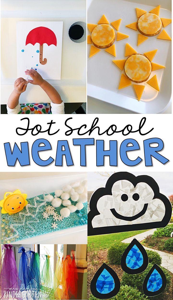 Spring Weather Worksheets Kindergarten