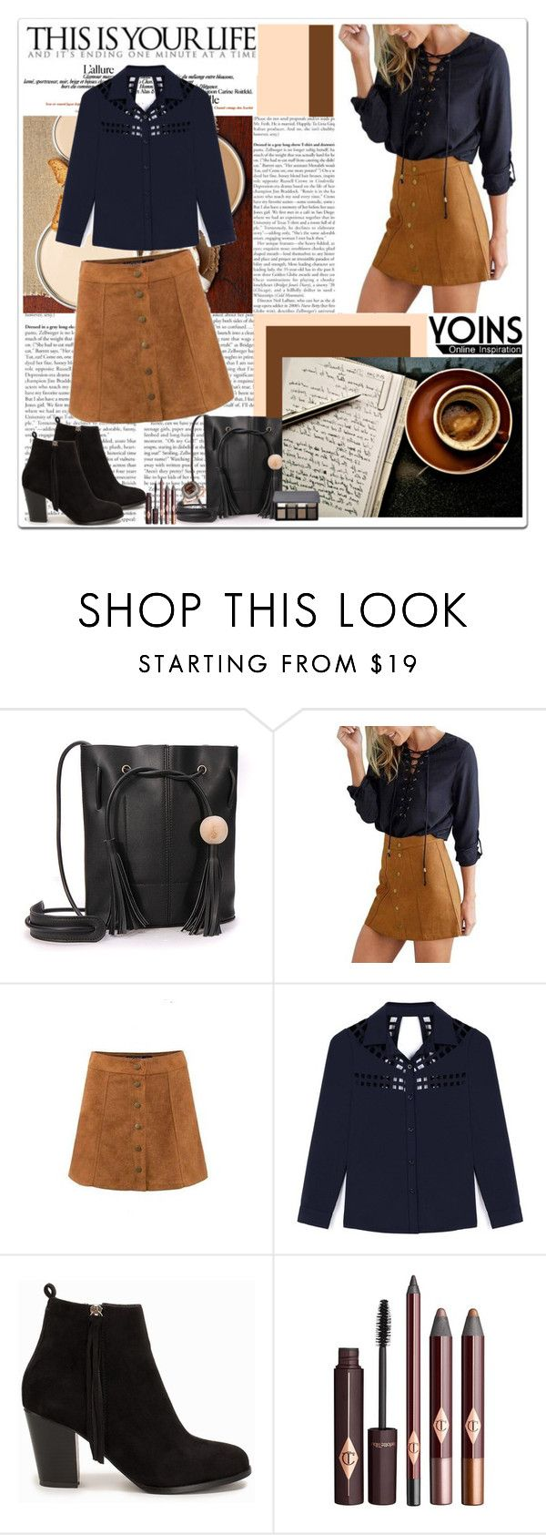 """On to the Next"" by polybaby ❤ liked on Polyvore featuring Nly Shoes, Bobbi Brown Cosmetics and Lord & Taylor"