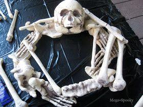 Ready, Set, Craft!: Guest Post: Skeleton Wreath