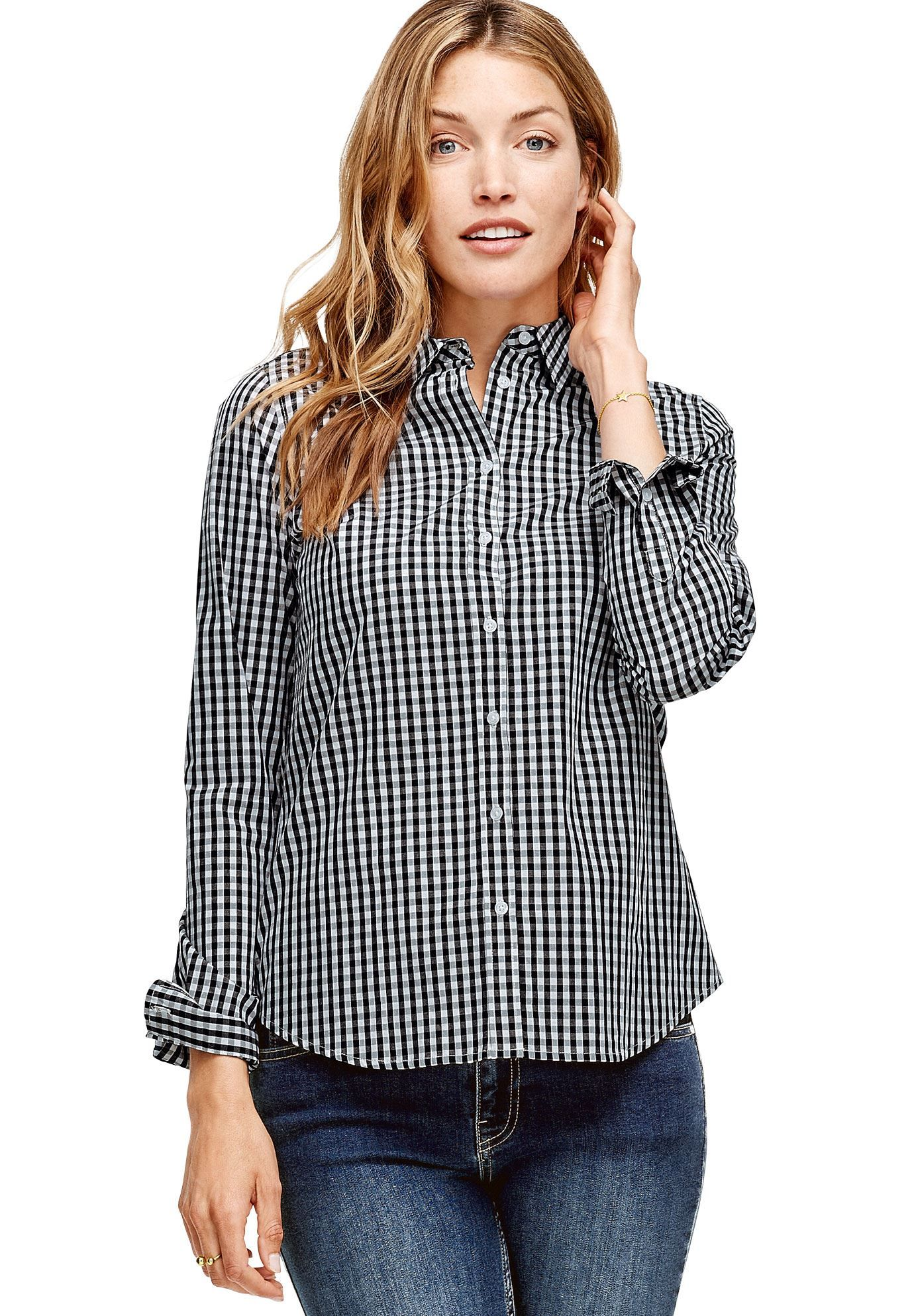9a172c3b Emma Button-Down Shirt by ellos - Women's Plus Size Clothing | Products