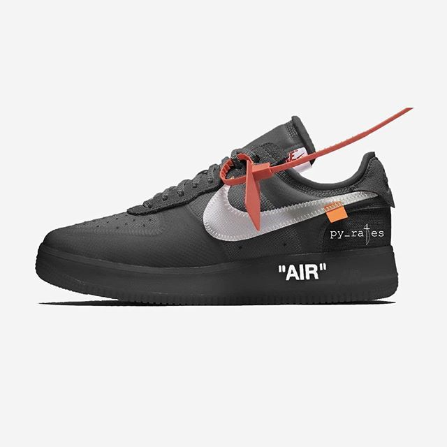 e06249d33fe Off-White x Nike Air Force 1 Low - Release Date - October