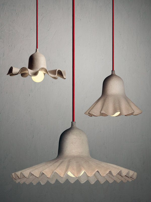 Recycled paper and cardboard lights paper mache pinterest recycled paper and cardboard lights mozeypictures Choice Image